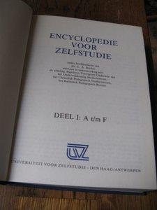 Encyclopedie voor zelfstudie (deel 1)