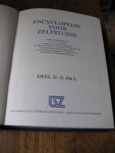Encyclopedie voor zelfstudie (deel 2)